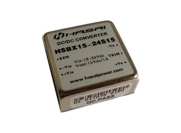 DC-DC电源模块小体积高效率HSBX10-15W系列