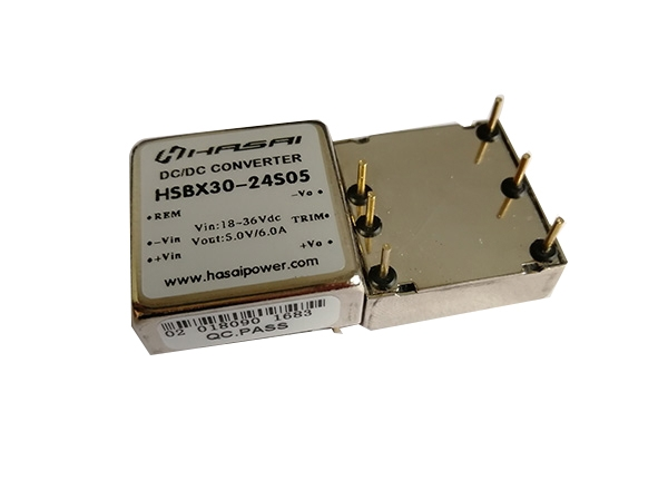 DC-DC电源模块超小体积高效率HSBX20-30W系列