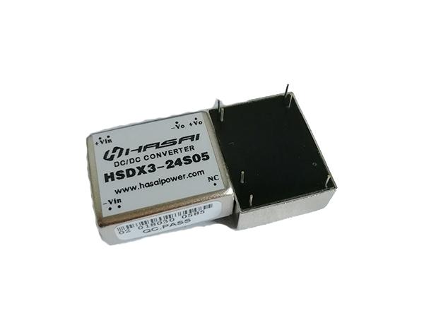 DC-DC电源模块小体积HSDX3-5W系列