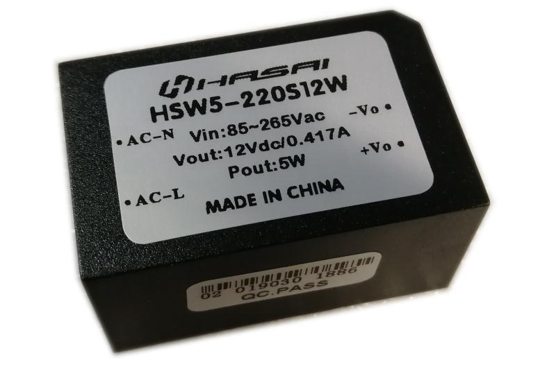 AC-DC电源模块HSW5W小体积系列