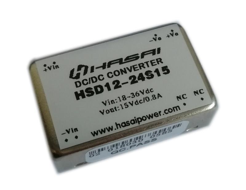 太仓DC-DC电源模块HSD10-12W系列
