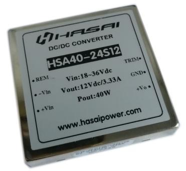 DCDC电源模块隔离稳压HSA40W系列