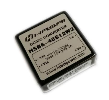 DCDC电源模块隔离稳压HSB3-6W系列