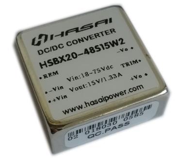 DCDC电源模块隔离稳压HSBX20W系列