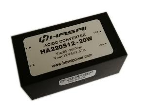 AC-DC电源模块(HA220-XX)20W小体积系列