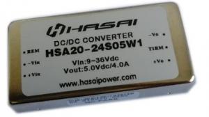 DCDC电源模块隔离稳压HSA20W系列