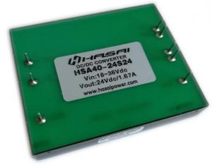 DCDC电源模块隔离稳压HSAD40-50W系列