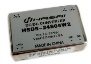 DCDC电源模块隔离稳压HSD3-6W系列