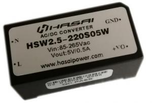 ACDC电源模块隔离稳压HSW3W系列